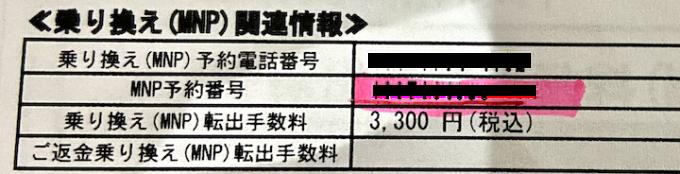 MNP費用