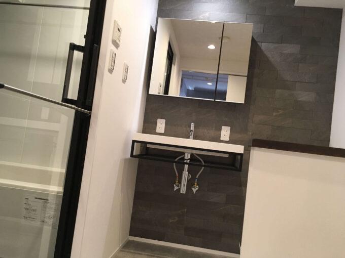 新しい洗面所